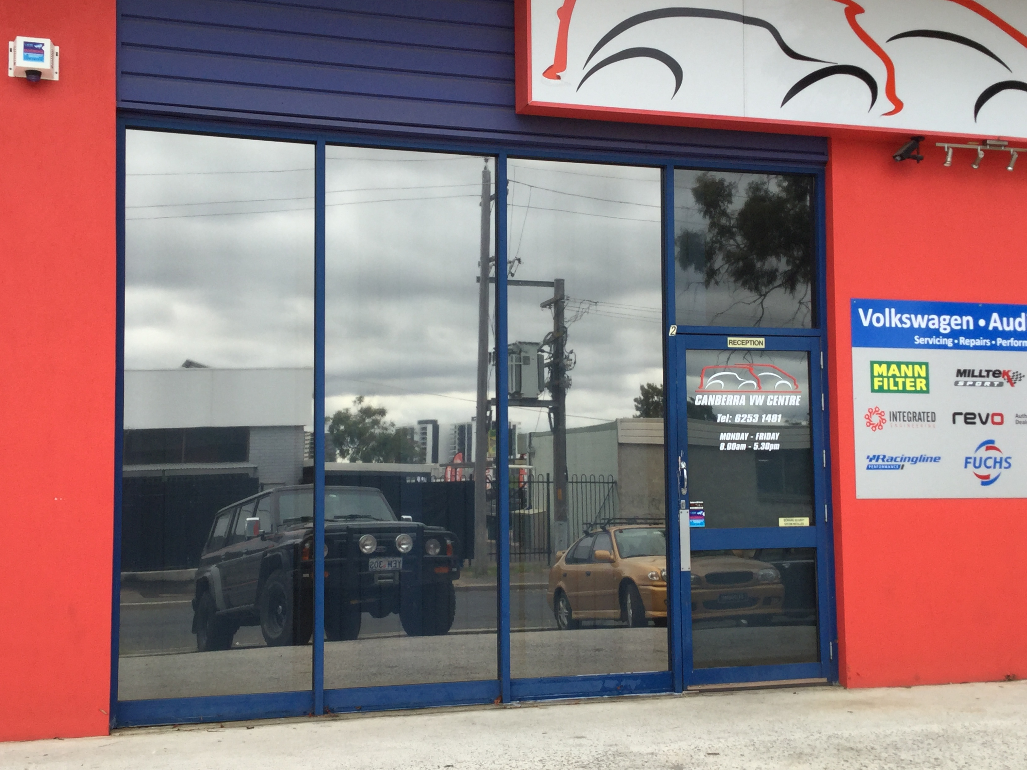 Commercial Window Tinting Canberra